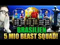 Download Video FIFA 16: OMFG 5 MIO BRAZIL BEAST SQUAD BUILDER (DEUTSCH) - FIFA 16 ULTIMATE TEAM - NEYMAR TOTY & CO!