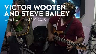 "PreSonus—Live from NAMM 2013: Victor Wooten, Steve Bailey, and David ""Fingers"" Haynes, 4 of 4."