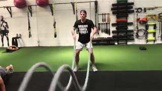 VIDEO: Battle Ropes | Metronome training w/ Josh Dun