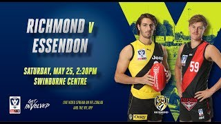 Rd 8 VFL: Richmond Vs Essendon