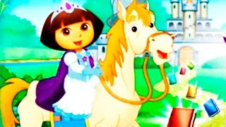 Dora the Explorer -  Dora's Royal Rescue.  Games for kids