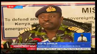 Questions abound on safety and role of Kenya Defence Forces in Somalia