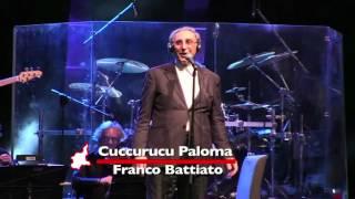Cuccurucucu Paloma - Franco Battiato Live [MM58-14]