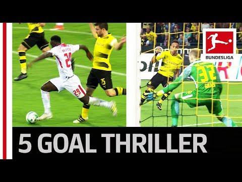 Auba Brace Not Enough - Leipzig End Dortmund's Unbeaten Home Run - Highlights