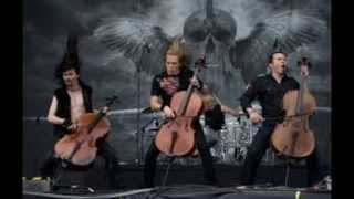 Apocalyptica from out of nowhere with drum