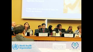 Prof. Dr. Md Habibe Millat, MP speaks at the 72nd World Health Assembly on Universal Health Coverage