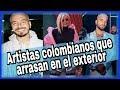 CANTANTES COLOMBIANOS  MAS 👏 destacados en el EXTERIOR 2019✅