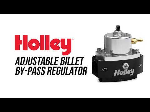 Holley Adjustable Billet By-Pass Regulator