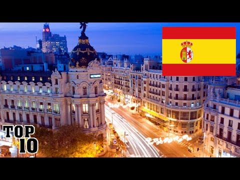 Video Top 10 Things To Do In Spain