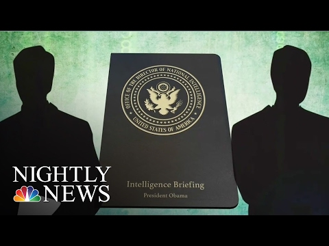 Inside The Russian Hacking Report President Obama Received   NBC Nightly News