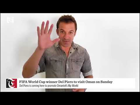 FIFA World Cup winner Del Piero to visit Oman soon