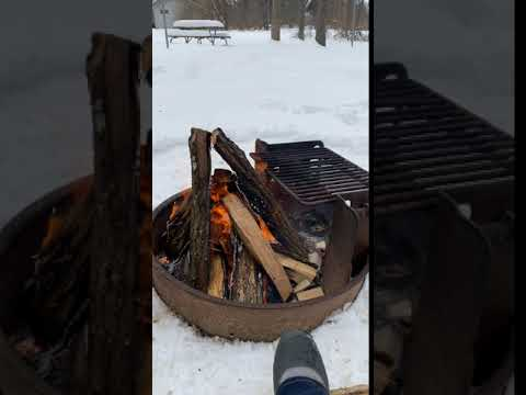 Good fire ring if you want to cook on it as well.