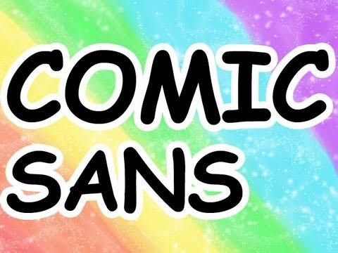 Obrana Comic Sansu