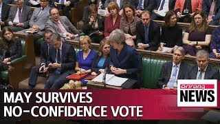 Download Video British PM May survives no-confidence vote, remains Tory leader MP3 3GP MP4