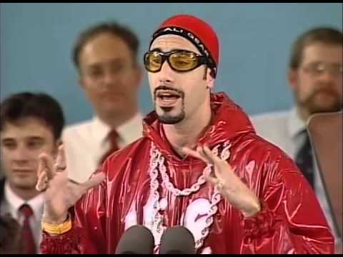 Download Sacha Baron Cohen (Ali G) Class Day | Harvard Commencement 2004 Mp4 HD Video and MP3