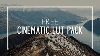 free cinematic lut pack sony vegas - TH-Clip