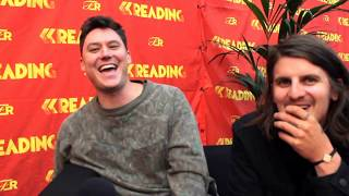 The Front Bottoms Interview | Reading Festival 2018 (Naked Photos, Ann EP, Creating Art)