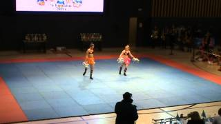 preview picture of video 'Чемпионат Караганды 2014 - Tetcheer BG - Cheer-freestyle / Чир-фристайл'