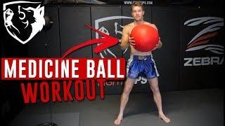 Medicine Ball Circuit Workout: Explosive Speed + Power
