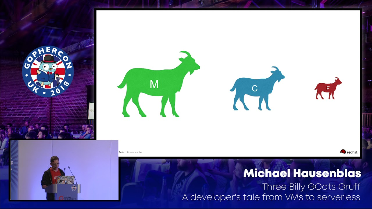 Three Billy GOats Gruff: A Dev's Tale from VMs to Serverless
