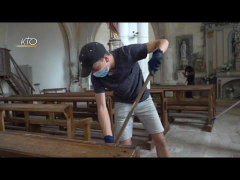 Des camps jeunes pour restaurer des églises