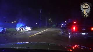 VIDEO: High speed police chase and crash in Middletown