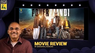 Pa Paandi | Movie Review | Baradwaj Rangan