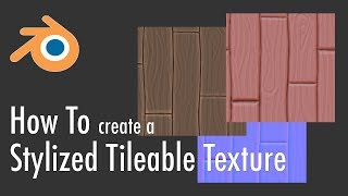 How To Create A Stylized Tileable Texture In Blender 2.8 (Normal + Diffuse)