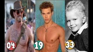 Kellan Lutz ♕ Transformation From A Child To 33 Years OLD