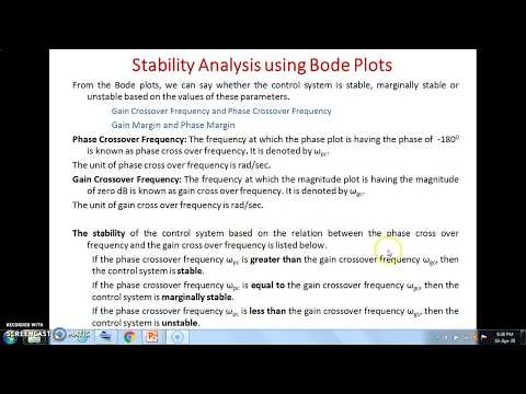 Bode Plot  Stability Analysis