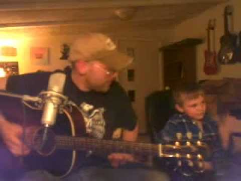 My son and I jamming!