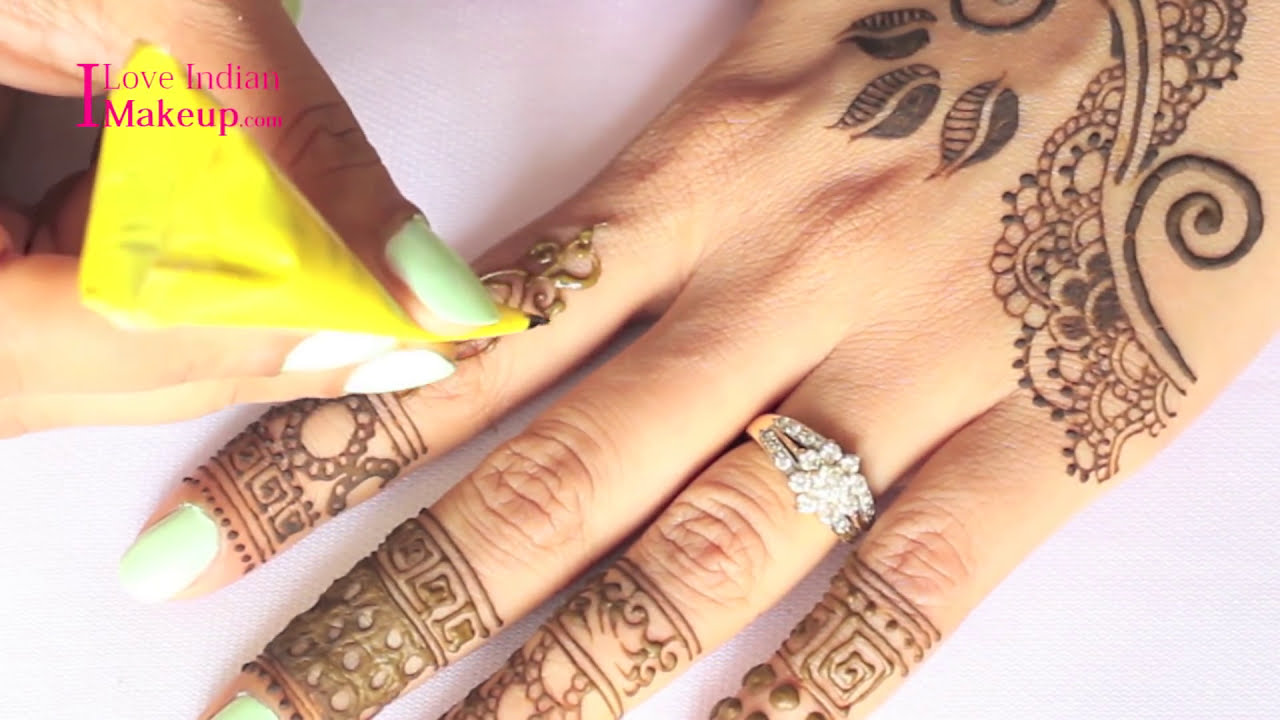 simple and quick mehndi design tutorial by shruti arjun anand