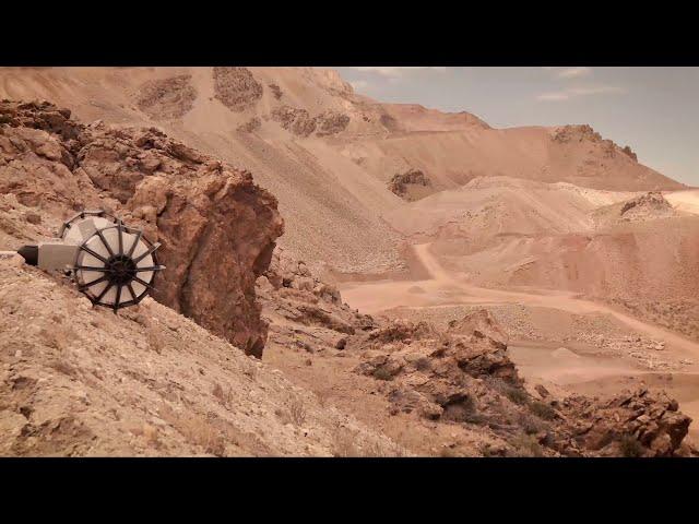 NASA представило новый ровер-трансформер для исследования самых недоступных участков Марса