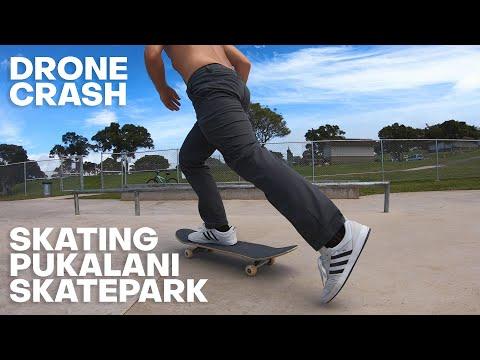 Skateboarding Maui: Pukalani Skatepark + Drone Crash - The Detourist Guide To Travel - Maui | Ep. 19