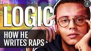 How Logic The Rapper Writes His Songs (Writing Rap Lyrics Creative Process)