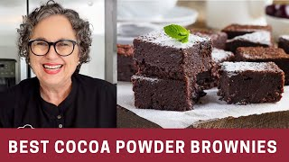 how to make homemade chocolate brownies from scratch