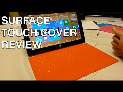 Microsoft Surface Touch Cover review