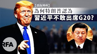 【桑海神州】2019年6月14日 為何特朗普認為習近平不敢出席G20?