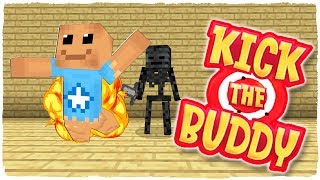 ¡KICK THE BUDDY EN MINECRAFT! - ANIMACIÓN ESCUELA DE MONSTRUOS (VIDEO REACCIÓN)