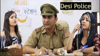Desi Police Station ke Jhatke - | Lalit Shokeen Films |