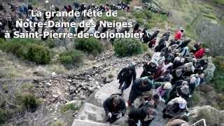 preview picture of video 'La grande fête de Notre-Dame des Neiges : témoignages'