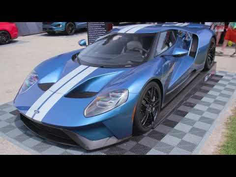 IMSA's Scott Atherton Gets Inside Look at Multimatic Ford GT Facility
