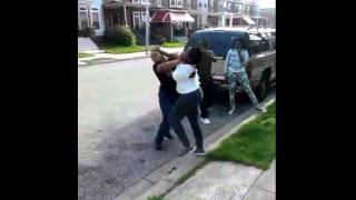 Daishaunaa Vs Ashanti Fight