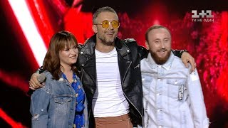 Lutsenko, Samko,  Babkin  'Come Together' – The Semi Final – The Voice of Ukraine – season 8