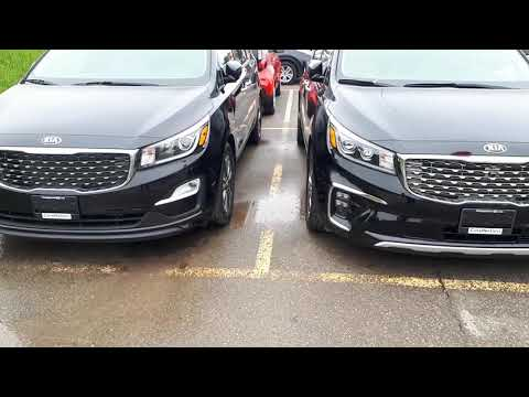 Difference between rims on Kia Sedona SX and SXL