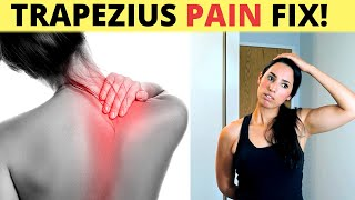 How To Get Trapezius Muscle Pain Relief (Stretches, Massages, And Exercises)