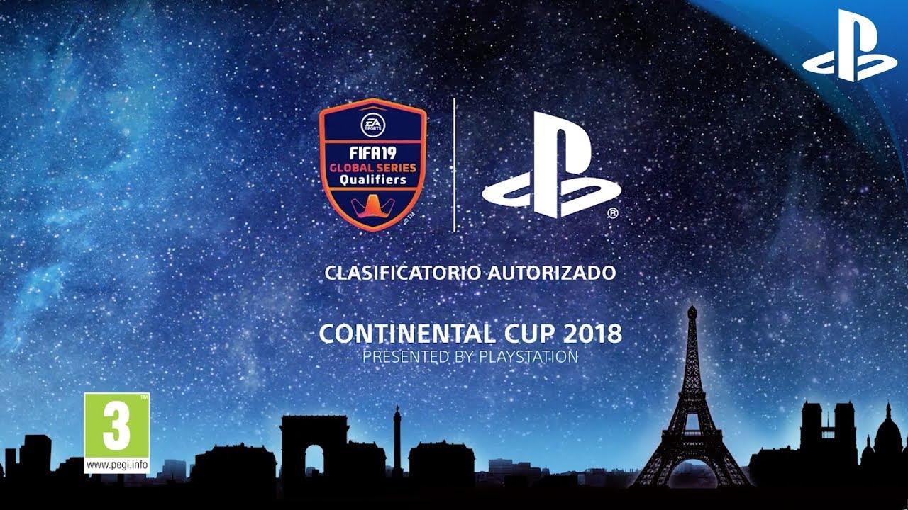 PlayStation presenta la Continental Cup de la serie global de EA SPORTS FIFA 19 en la Paris Games Week ¿Serás tú el jugador que represente a España?