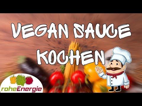 Vegan Sauce kochen 🍴 Mein bestes Rezept