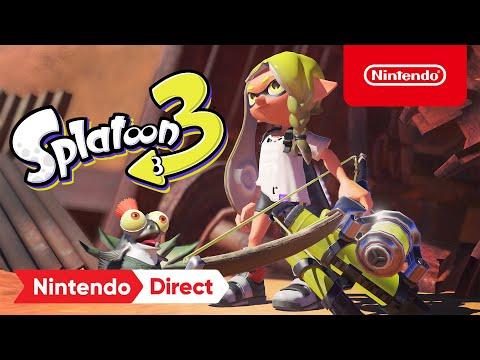 Splatoon 3 : Announcement Trailer – Nintendo Switch