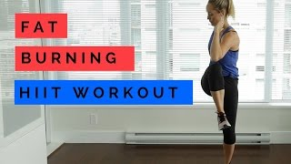 15 minute Fat Burning HIIT Workout (No Equipment) by Heather Robertson